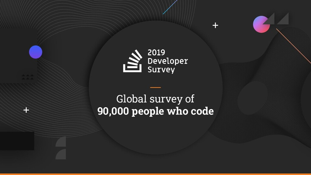 Global survey of 90,000 people who code