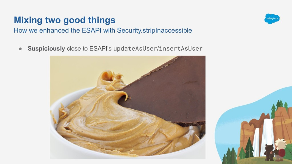 Mixing two good things How we enhanced the ESAP...