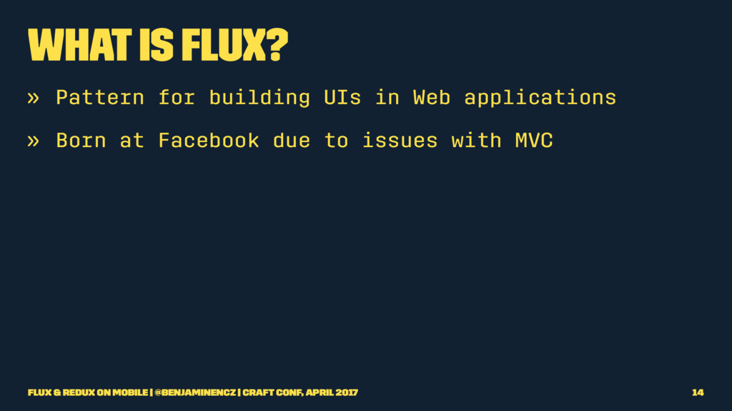 What is Flux? » Pattern for building UIs in Web...