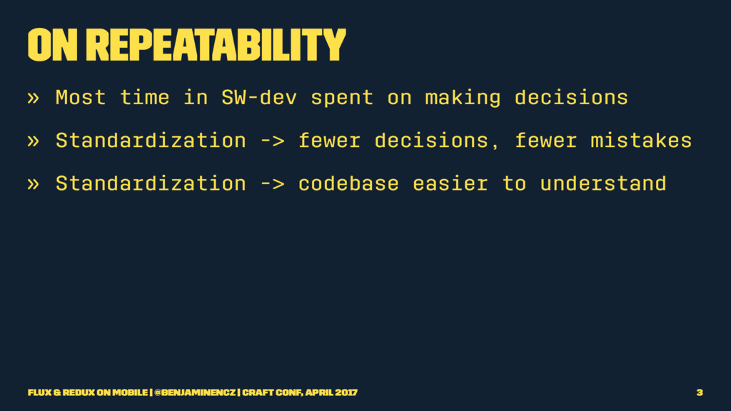 On Repeatability » Most time in SW-dev spent on...