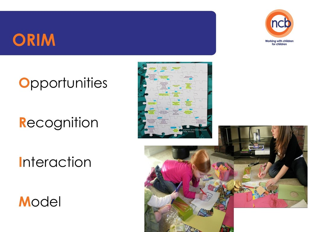 ORIM Opportunities Recognition Interaction Model