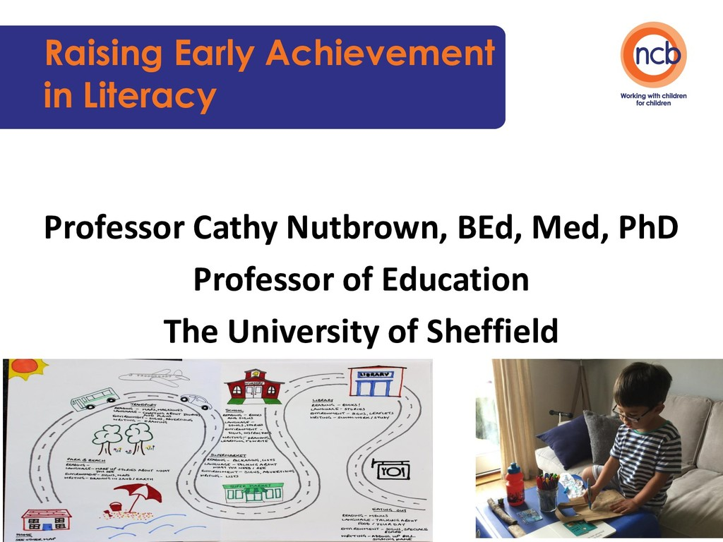 Raising Early Achievement in Literacy Professor...