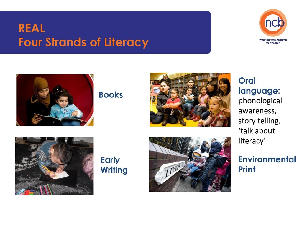 REAL Four Strands of Literacy Books Early Writi...