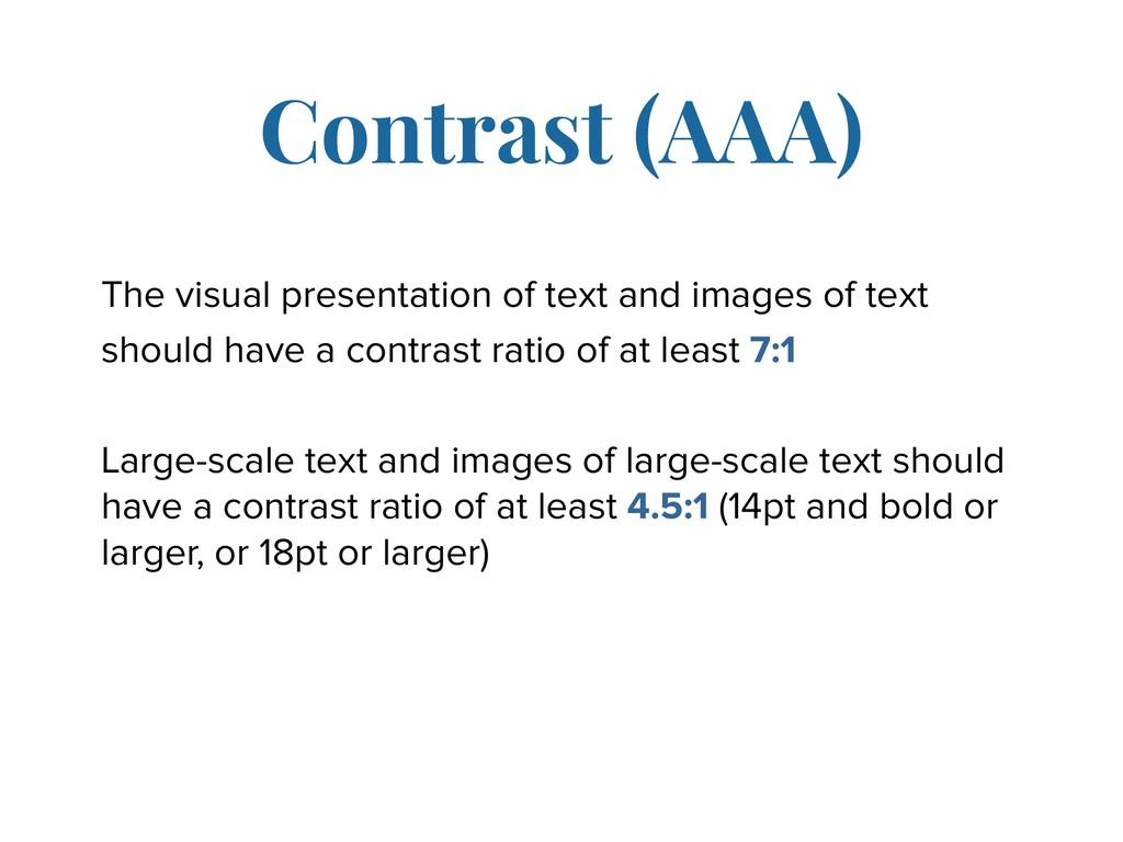 The visual presentation of text and images of t...