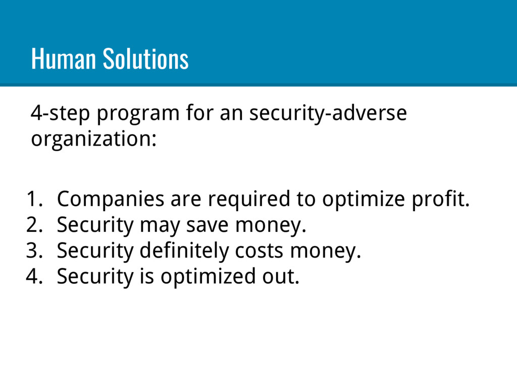 Human Solutions 4-step program for an security-...