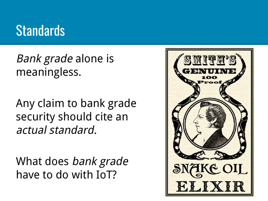 Standards Bank grade alone is meaningless. Any ...