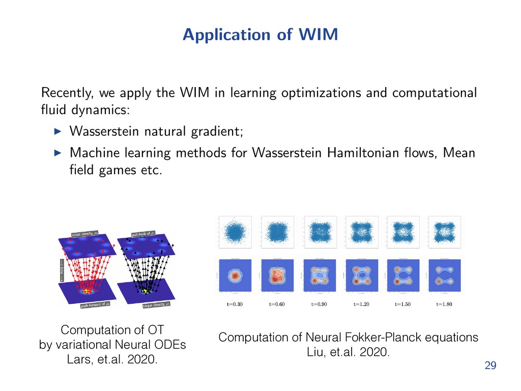 Application of WIM Recently, we apply the WIM i...