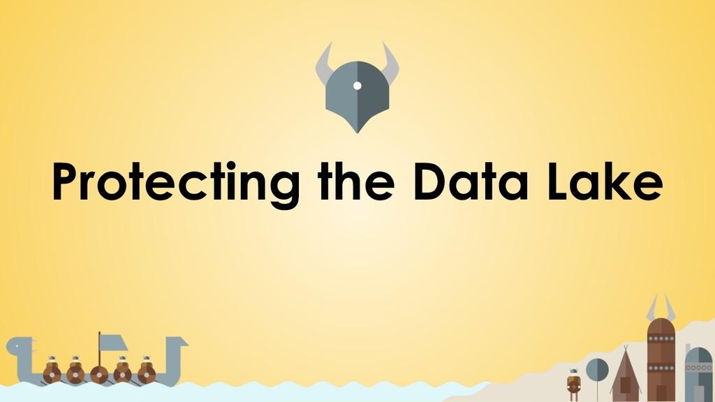 Protecting the Data Lake
