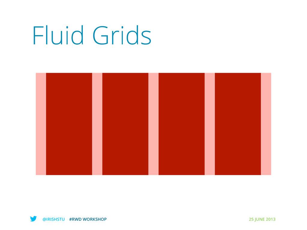 @IRISHSTU #RWD WORKSHOP 25 JUNE 2013 Fluid Grids