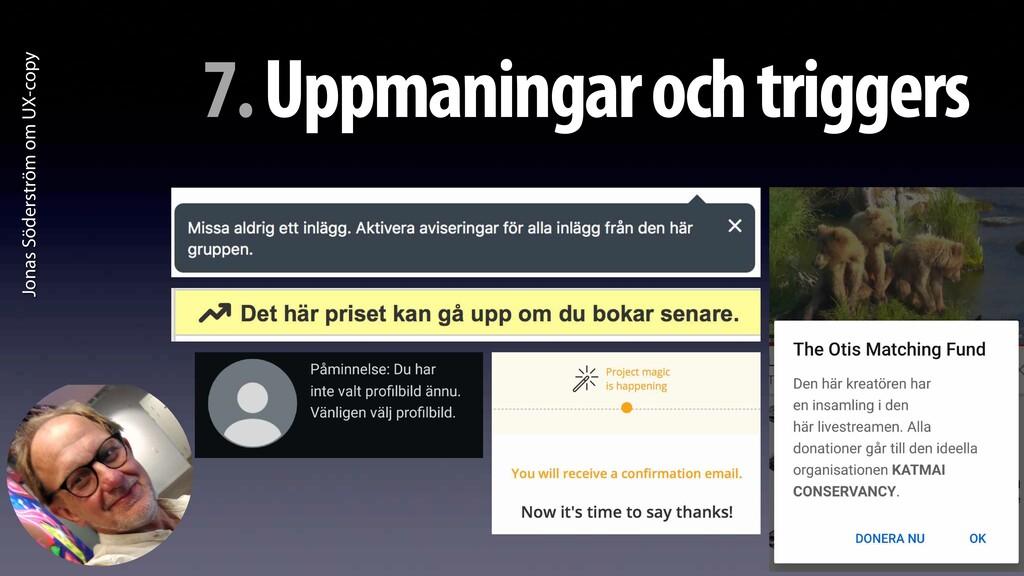 Jonas Söderström om UX-copy 7. Uppmaningar och ...