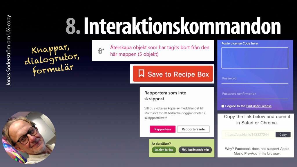 Jonas Söderström om UX-copy 8. Interaktionskomm...