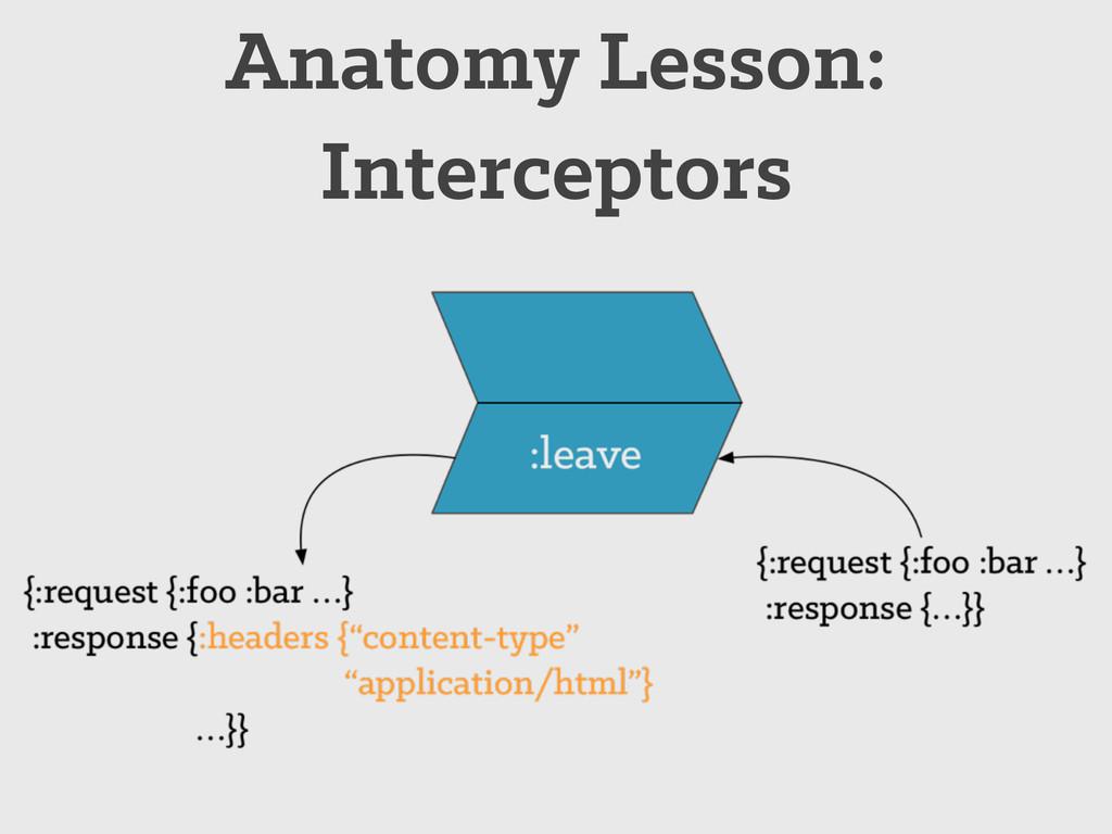 Anatomy Lesson: Interceptors