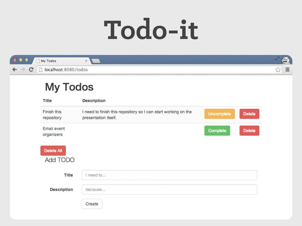 Todo-it