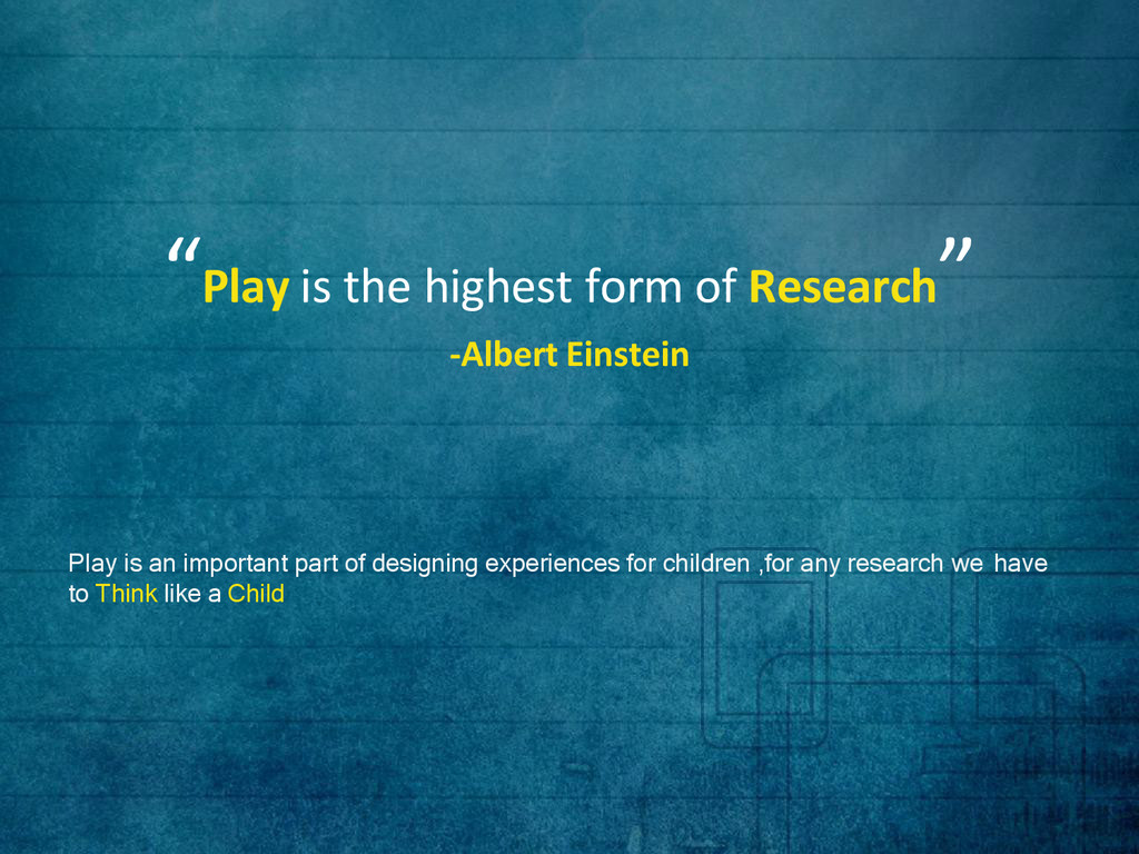 Play is an important part of designing experien...