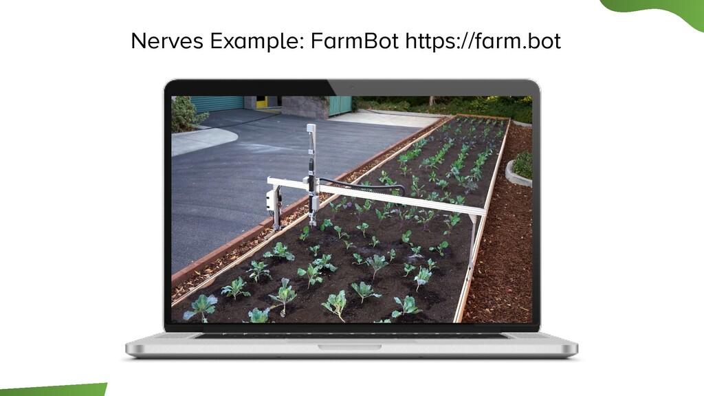 Nerves Example: FarmBot https://farm.bot