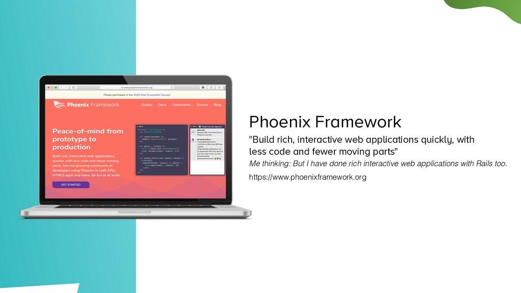 "Phoenix Framework ""Build rich, interactive web ..."