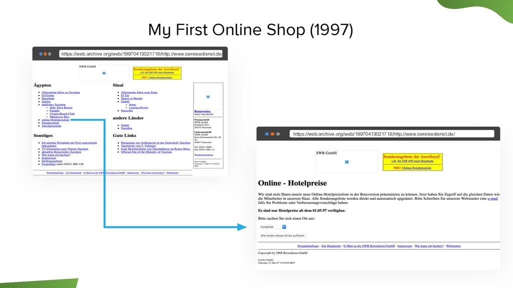 http://www.website.com My First Online Shop (19...