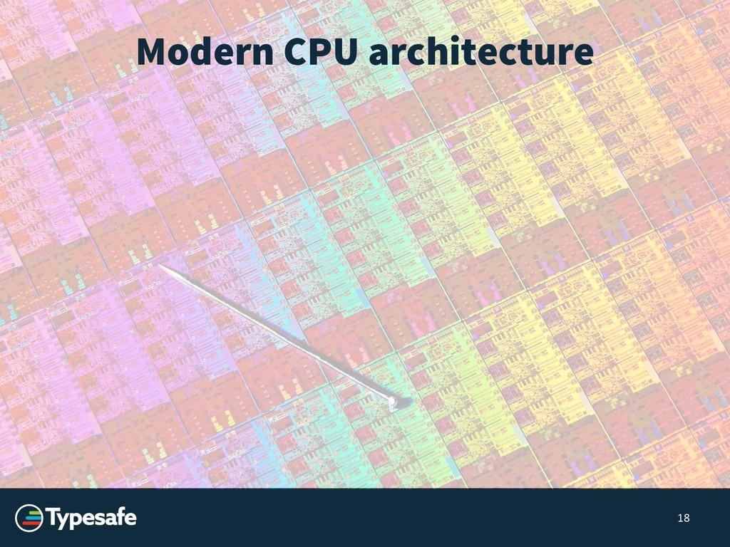 18 Modern CPU architecture