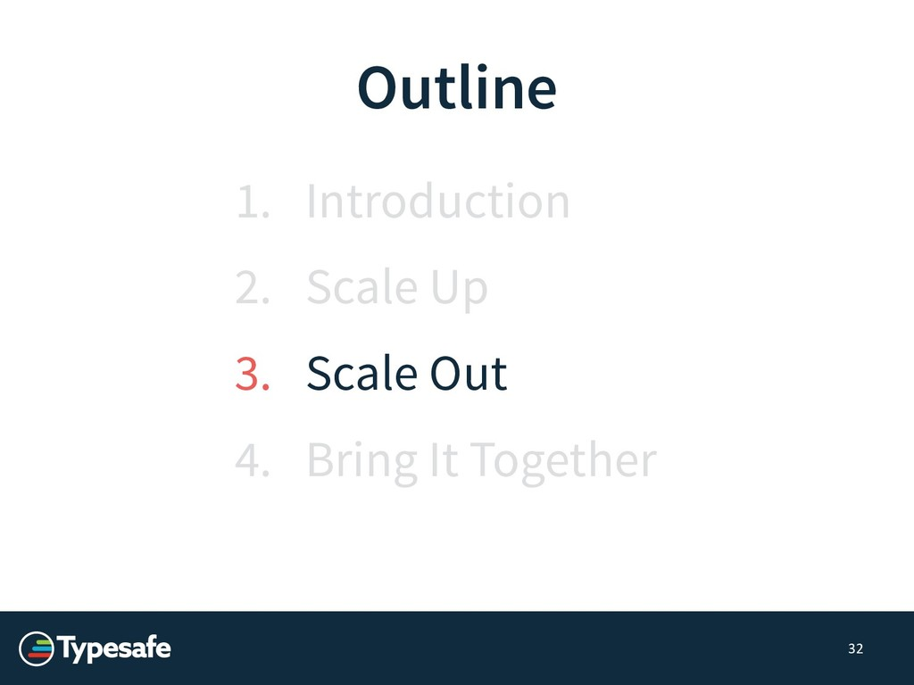 Outline 1. Introduction 2. Scale Up 3. Scale Ou...
