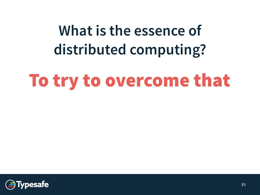 What is the essence of distributed computing? 3...