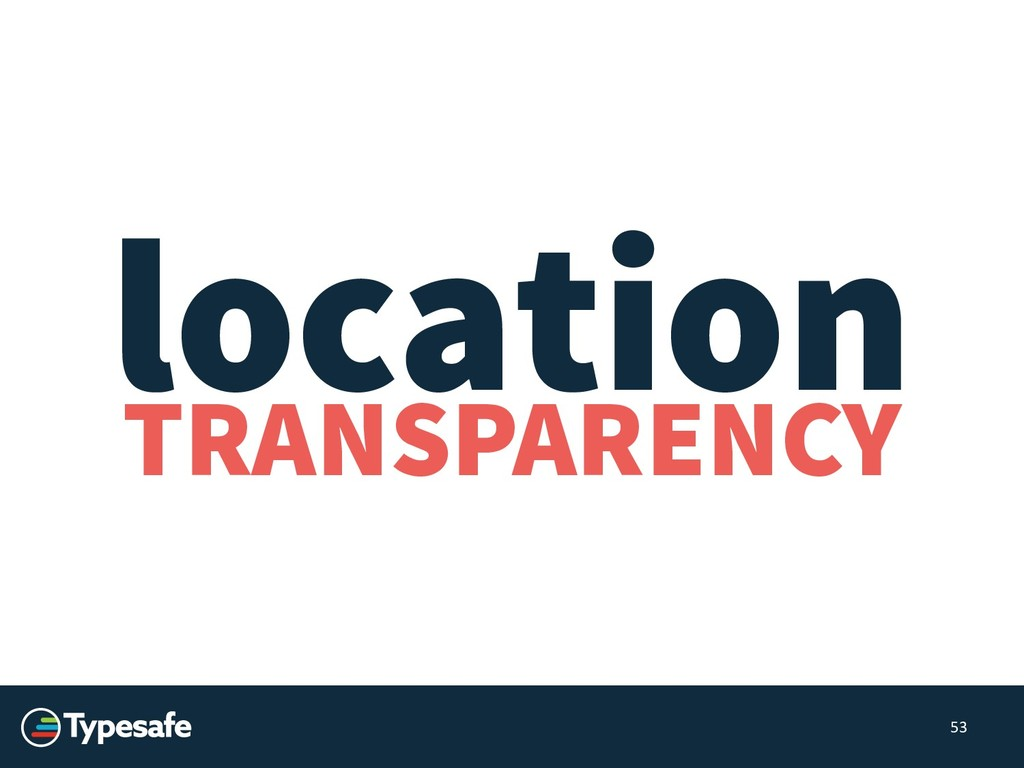 TRANSPARENCY 53 location