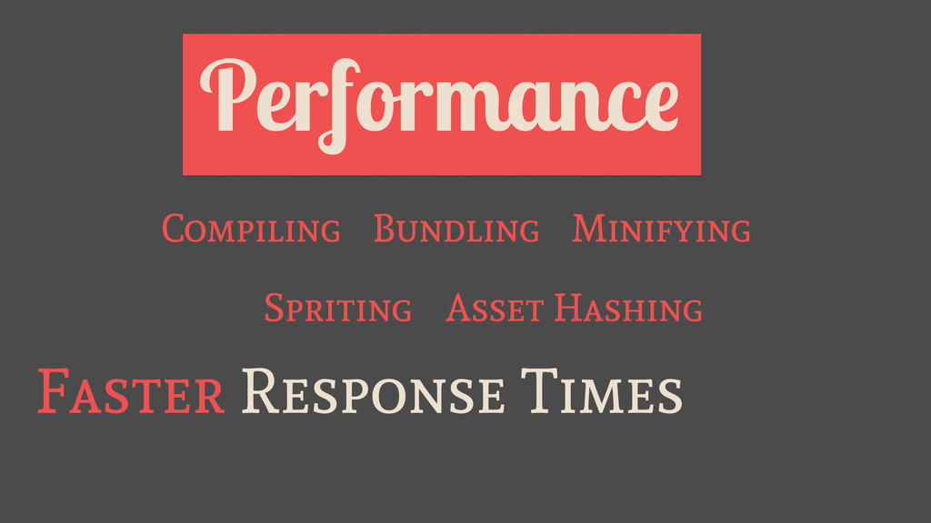 Performance Faster Response Times Bundling Mini...