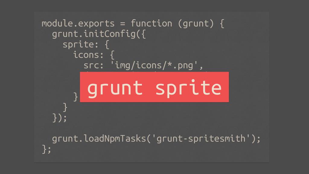 module.exports = function (grunt) { grunt.initC...