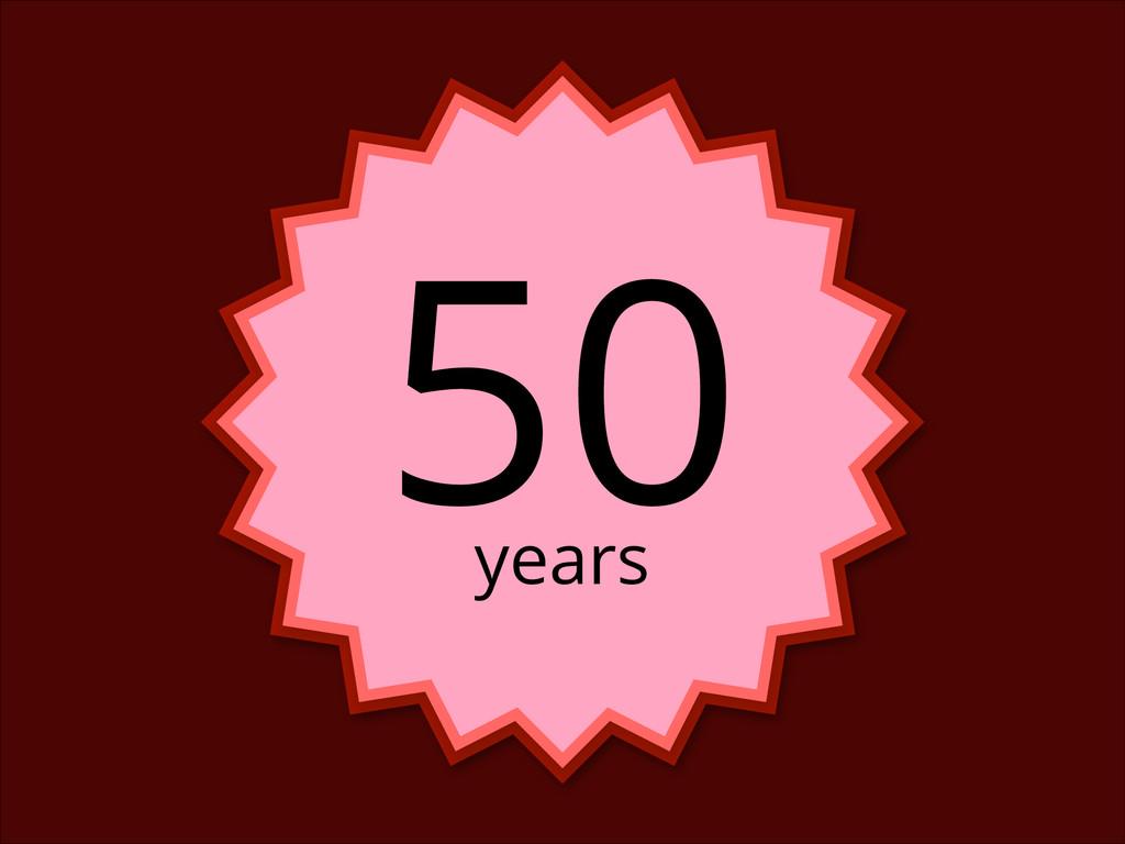 years 50
