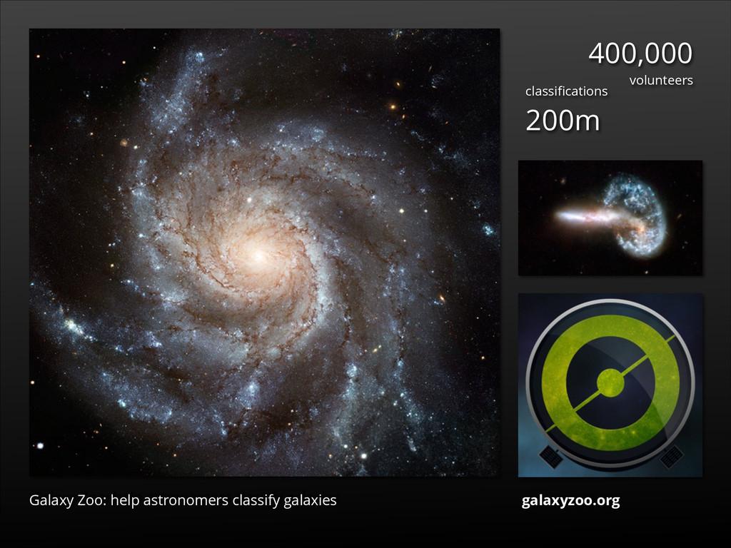 Galaxy Zoo: help astronomers classify galaxies ...