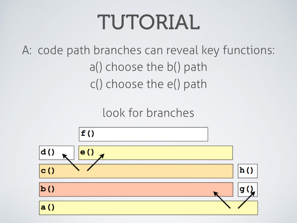 TUTORIAL A: code path branches can reveal key f...