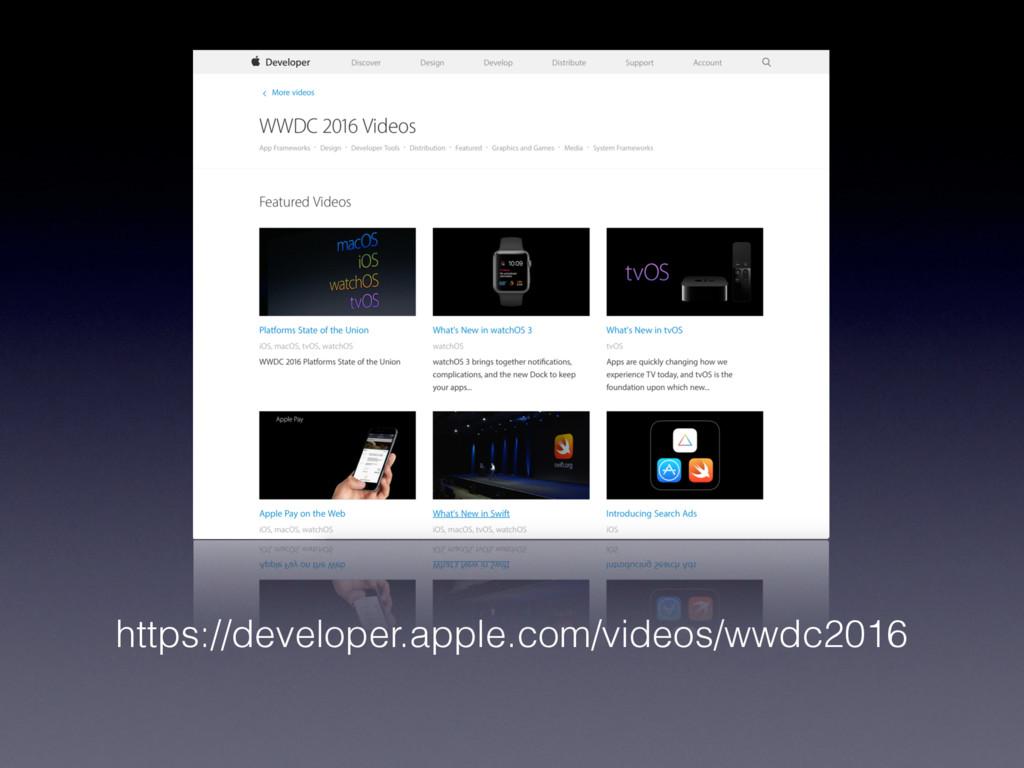 https://developer.apple.com/videos/wwdc2016