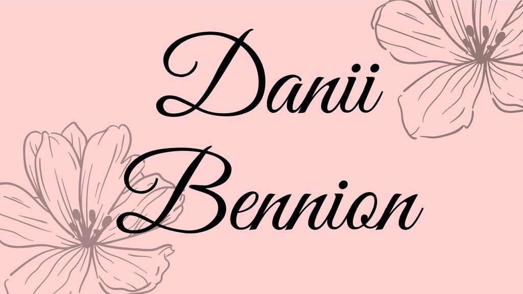Danii Bennion