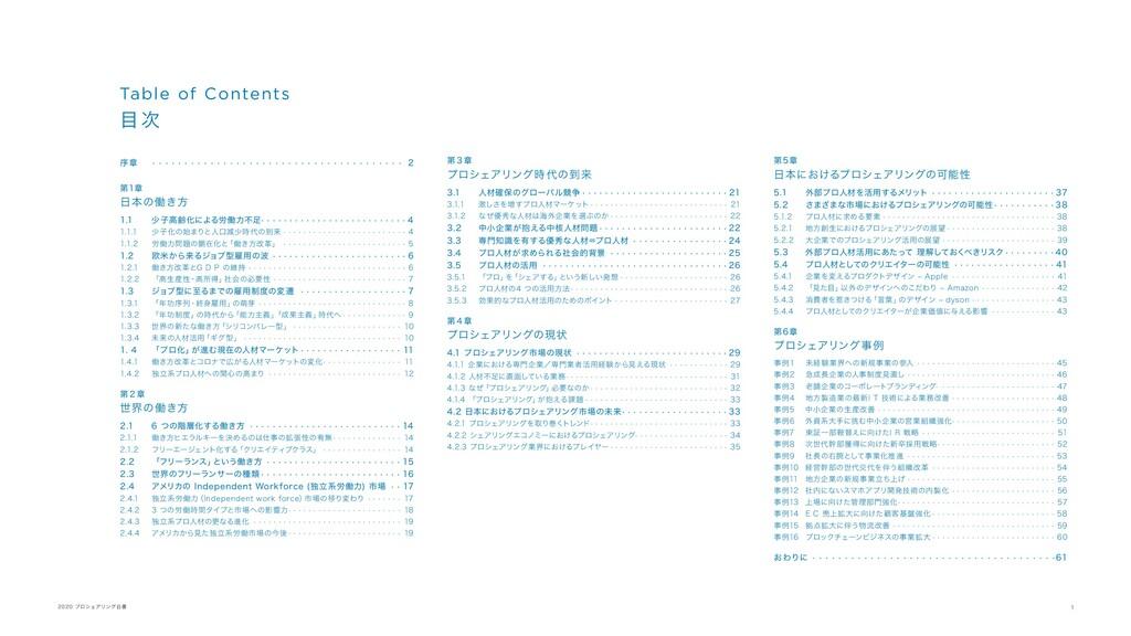 1 2020 プロシェアリング白書 序章 ·  ·  ·  ·  ·  ·  ·  ·  · ...