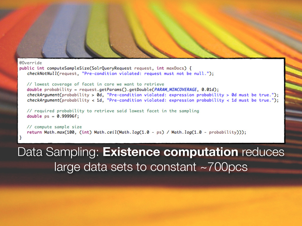 Data Sampling: Existence computation reduces la...