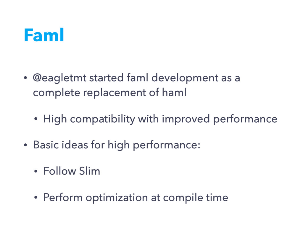 Faml • @eagletmt started faml development as a ...
