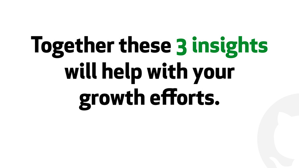 ! Together these 3 insights will help with your...