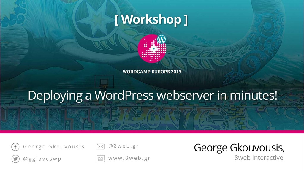 [ Workshop ] Deploying a WordPress webserver in...