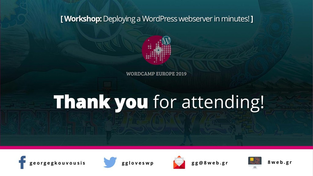 [ Workshop: Deploying a WordPress webserver in ...