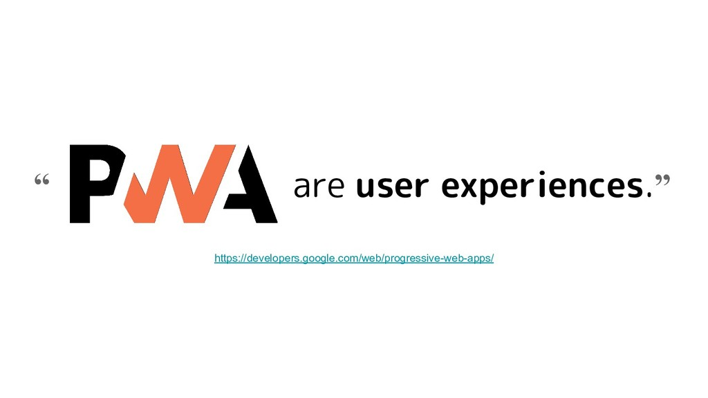 """are user experiences."""" """" https://developers.goo..."""