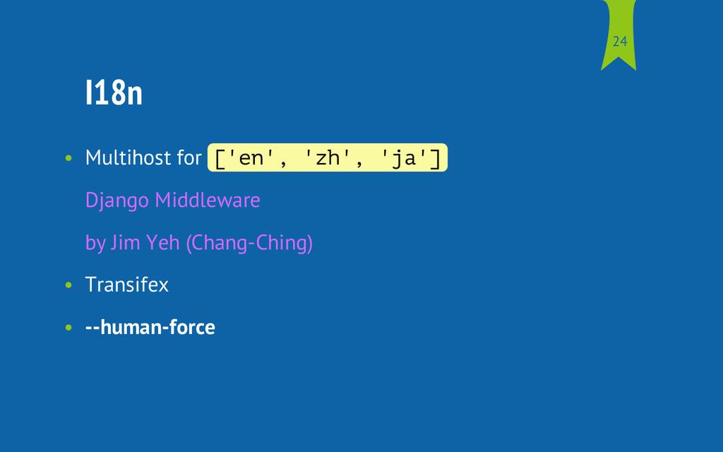 I18n • Multihost for [ ' e n ' , ' z h ' , ' j ...
