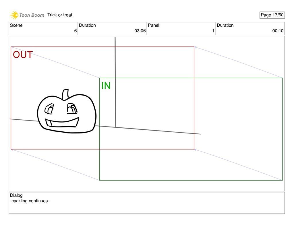 Scene 6 Duration 03:06 Panel 1 Duration 00:10 D...