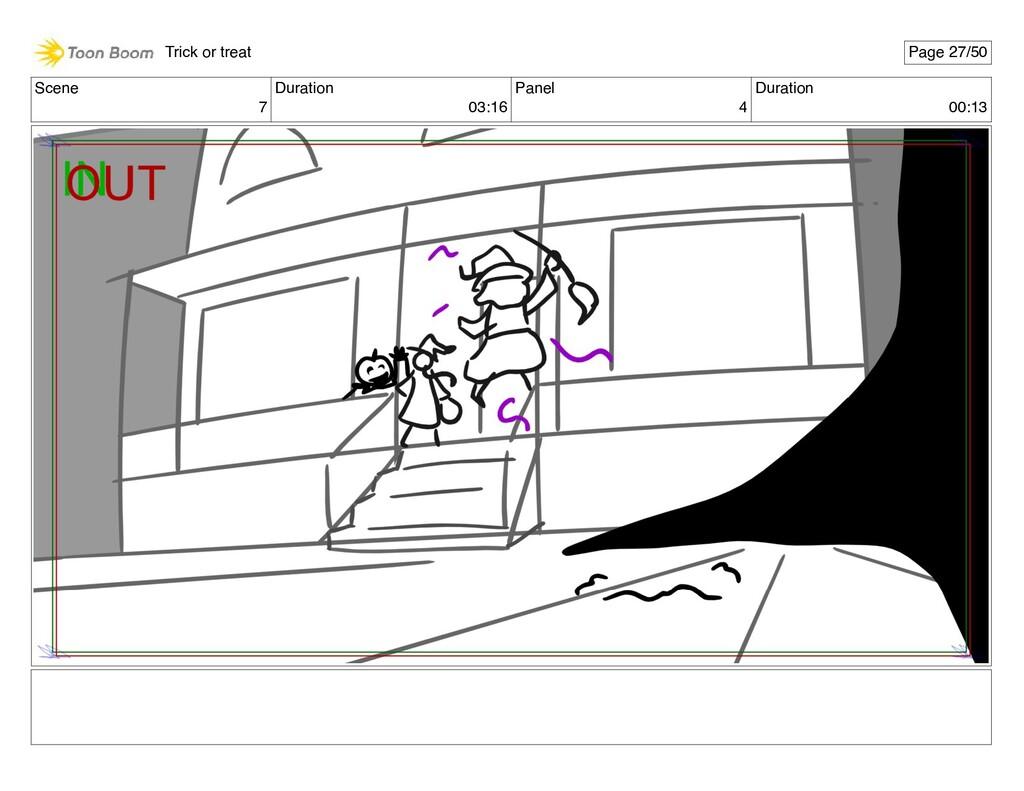 Scene 7 Duration 03:16 Panel 4 Duration 00:13 T...