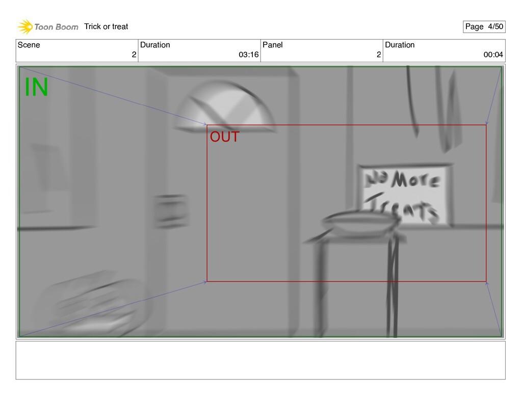 Scene 2 Duration 03:16 Panel 2 Duration 00:04 T...