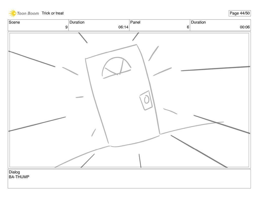 Scene 9 Duration 06:14 Panel 6 Duration 00:06 D...