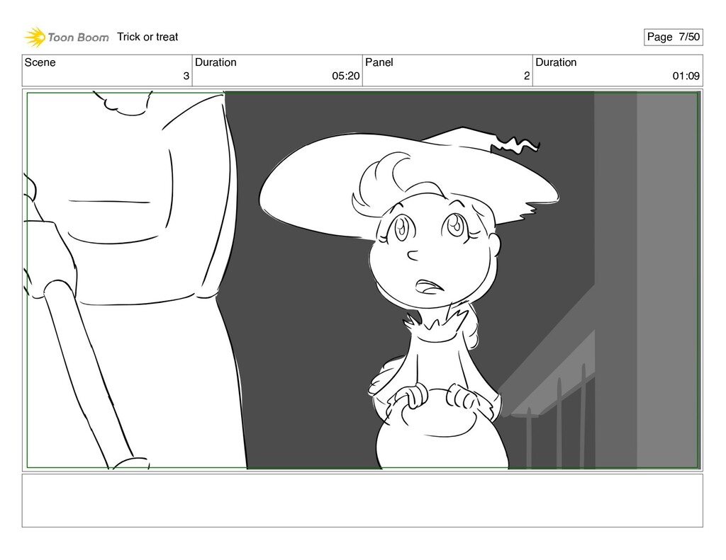 Scene 3 Duration 05:20 Panel 2 Duration 01:09 T...