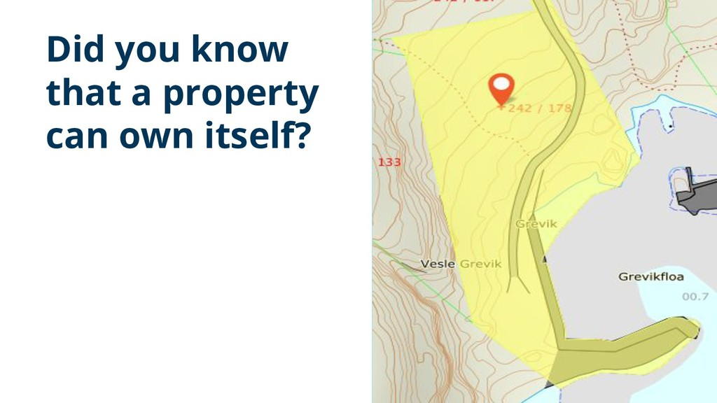 Did you know that a property can own itself? 2