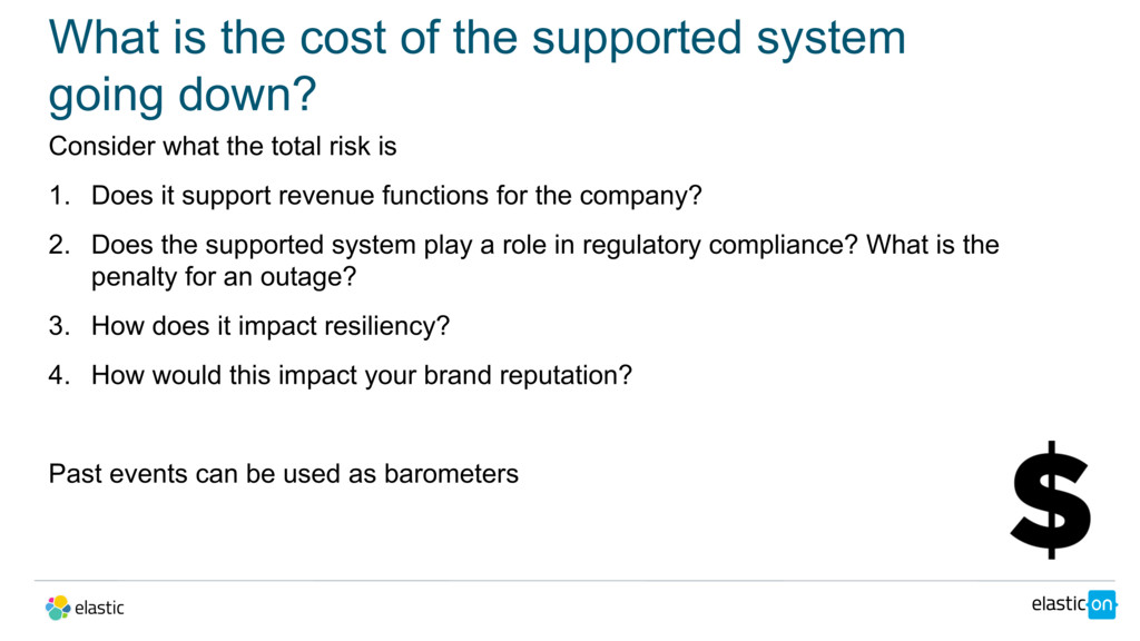 What is the cost of the supported system going ...