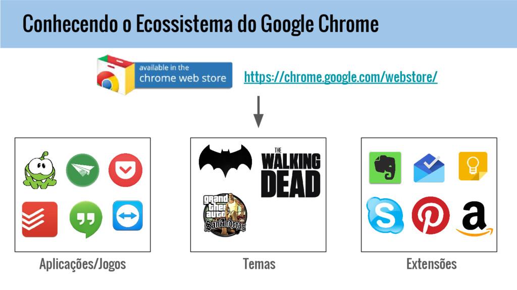 Conhecendo o Ecossistema do Google Chrome Aplic...