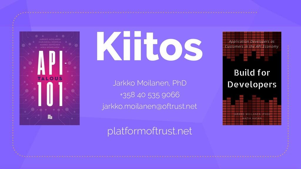 Kiitos Jarkko Moilanen, PhD +358 40 535 9066 ja...