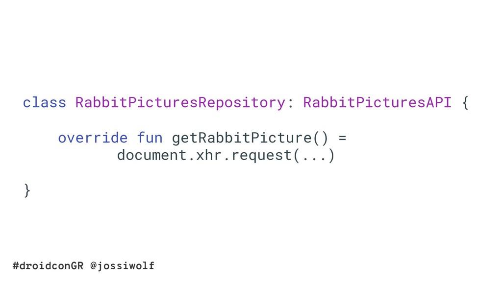 #droidconGR @jossiwolf class RabbitPicturesRepo...
